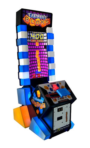 Tippin' Bloks Ticket Arcade Game