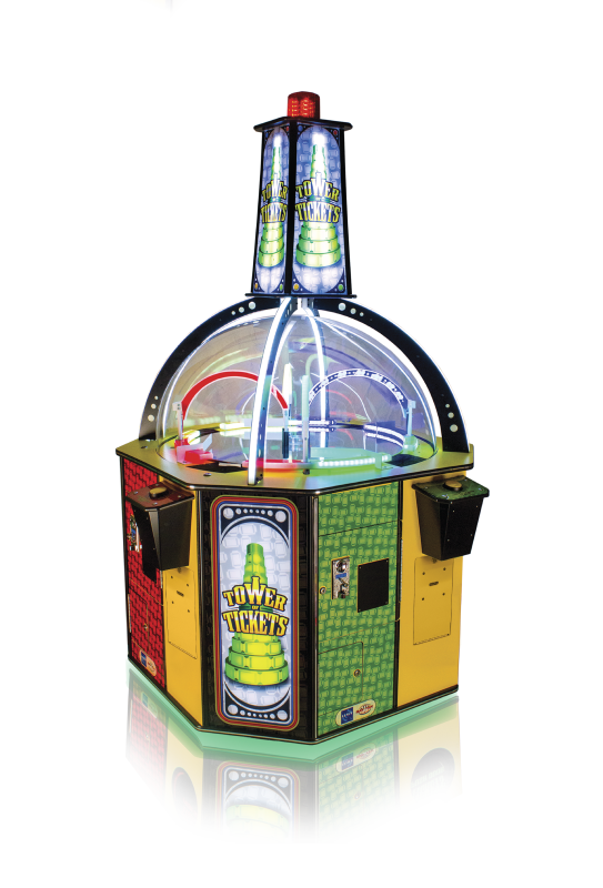 Tower of Tickets Arcade Ticket Game