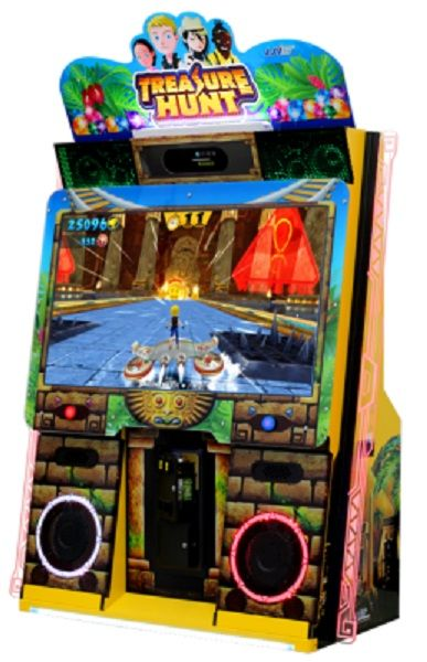 Treasure Hunt Ticket Video Arcade Game