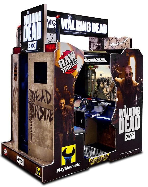 The Walking Dead Arcade Shooting Game