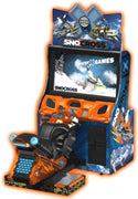 Winter X-Games SnoCross Arcade Snowmobile Game
