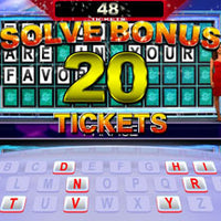 "Wheel Of Fortune 42"" Mini Model Ticket Arcade Game"