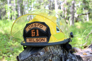 Firefighter Helmet Shield