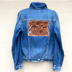 Custom Tooled Jacket Patch
