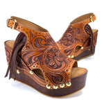 Fully Tooled & Fringed Wedge DEPOSIT ONLY
