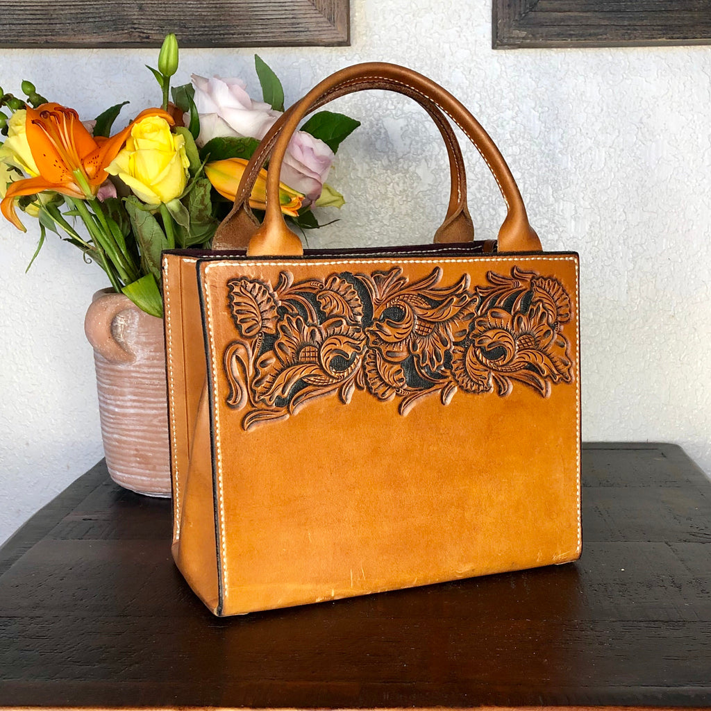 Custom Tooled Handbag DEPOSIT