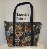 Laura's Zippered Tote Pattern