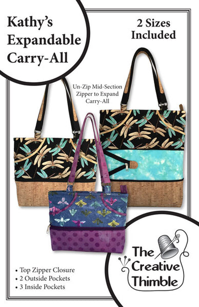Kathy's Expandable Carry All Pattern