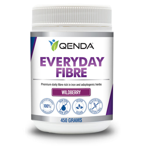Qenda Everyday Fibre Wildberry 450g (30 x 15g servings)