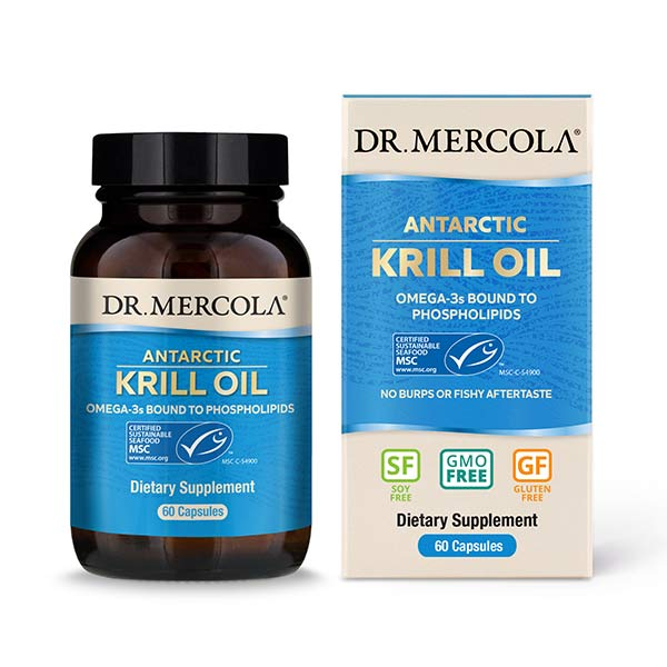 Krill Oil (1000 mg) 60 CAPSULES 30 day supply