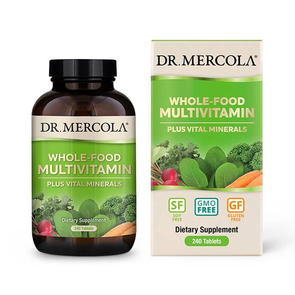 Dr Mercola Whole-Food Multivitamin