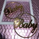 Personalized Goddess Hoops