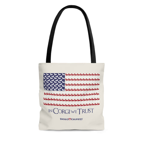 In Corgi We Trust - Tote Bag