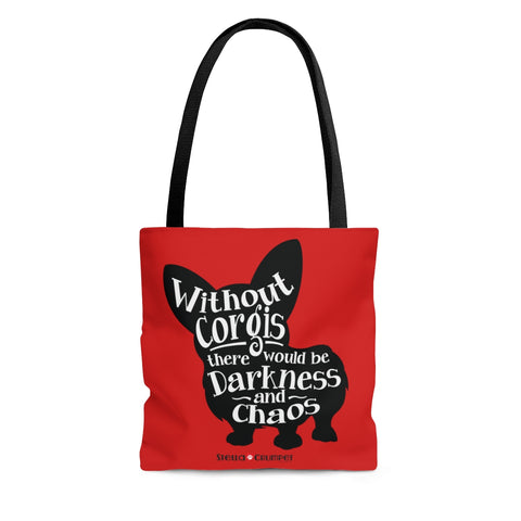Without Corgis Tote Bag
