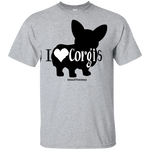 I Love Corgis (Front Only)