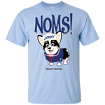 Noms Ahoy (Front Only) Burnt - Youth T
