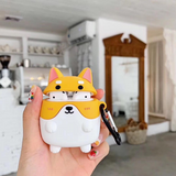 3D Corgi Case for Wireless Airpods