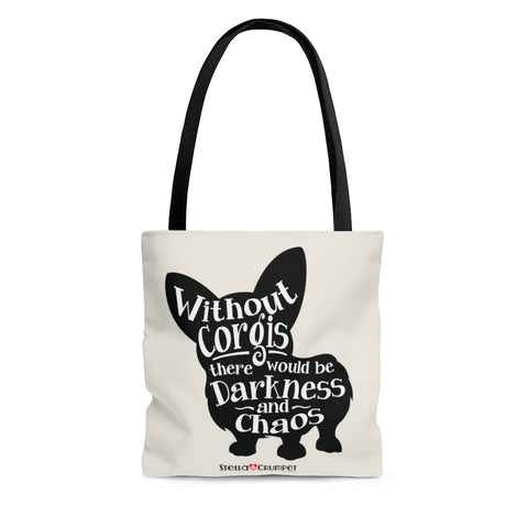 Without Corgis - Tote Bag