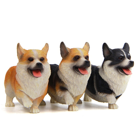 Standing Corgi Figurine Collectible