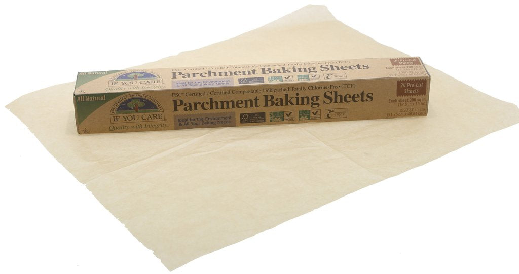 Parchment baking sheets 24