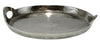 Pewter Round Tray With Handles