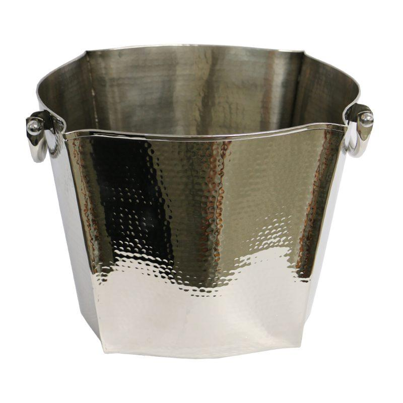 Lucca Hammered Ice Bucket