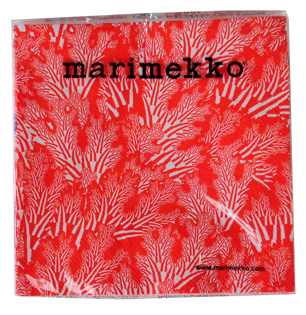 Napkin 'Marimekko Meriheina Orange' 3ply - Luncheon