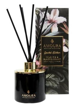 Amoura Luxury Diffuser - Wild Fig & Blackcurrant
