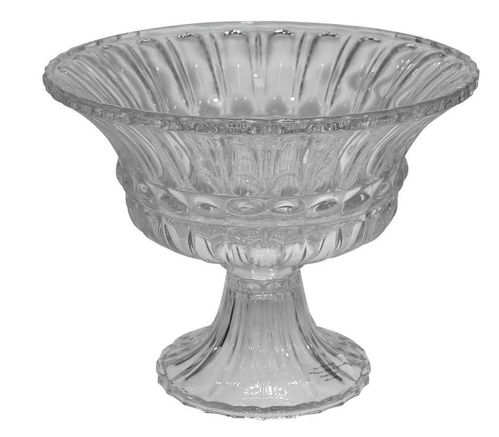 Cut Glass Bowl on Stand