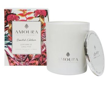 Amoura Luxury Candle - Japanese Orchid