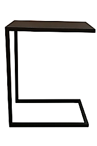 Arc Side Table Black