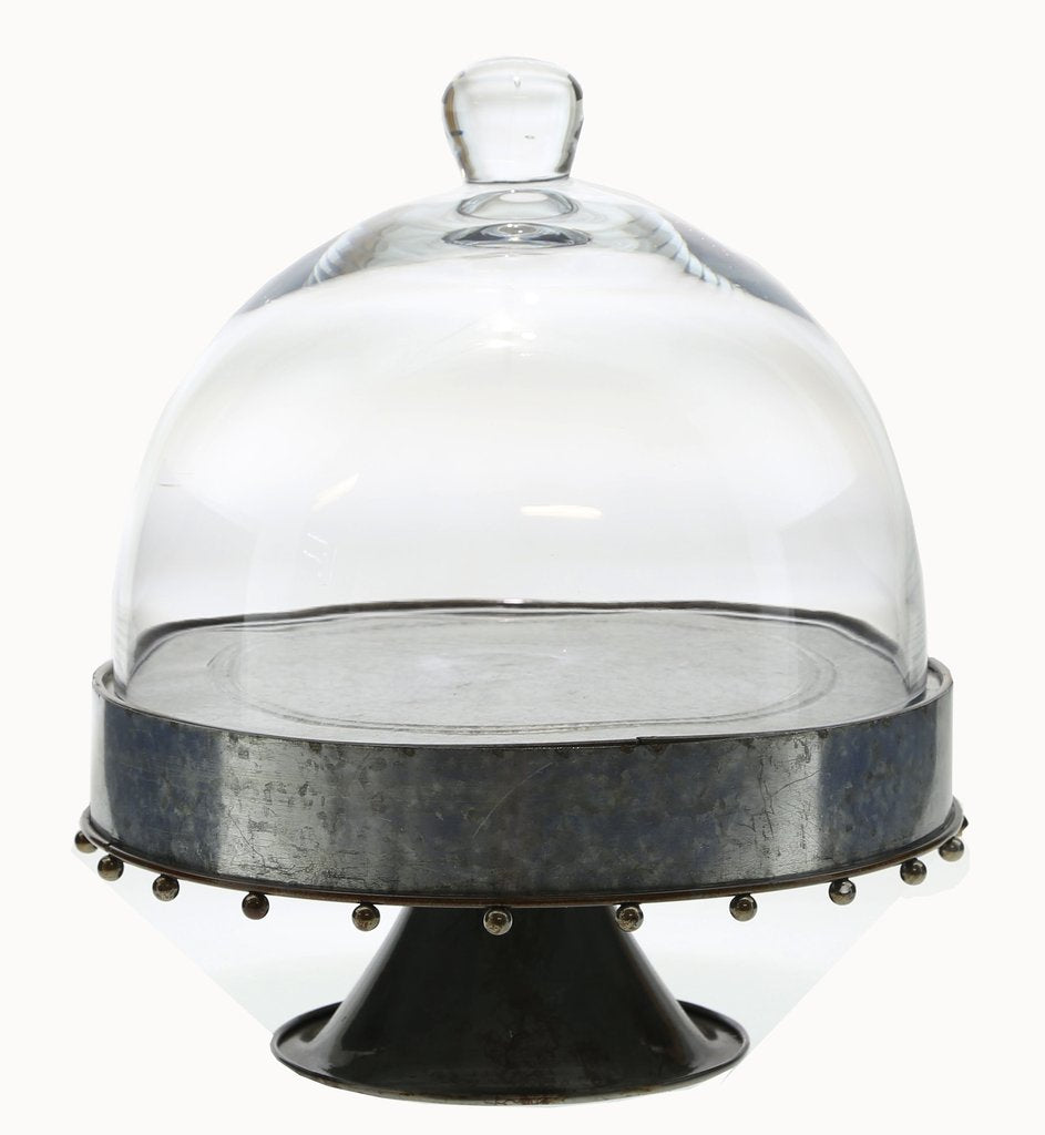 Knox Metal Cake Stand & Dome