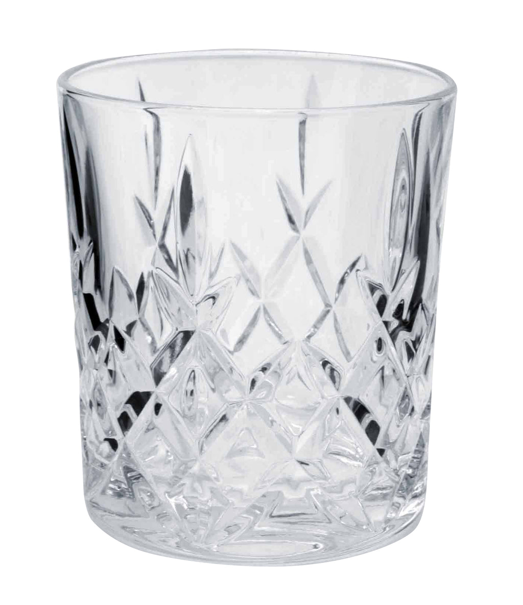 Bohemia Crystal Brixton Old Fashioned Tumbler 320ml Set 6