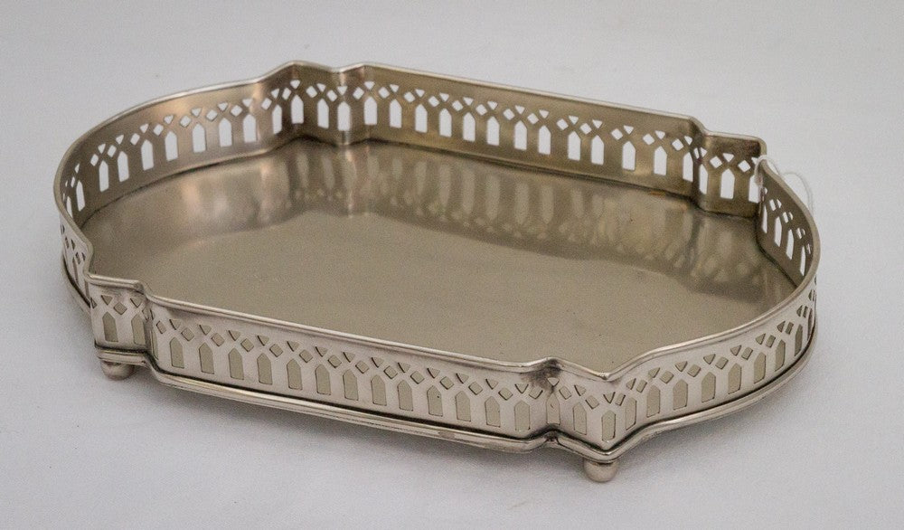Large Gallery Tray – pewter plate