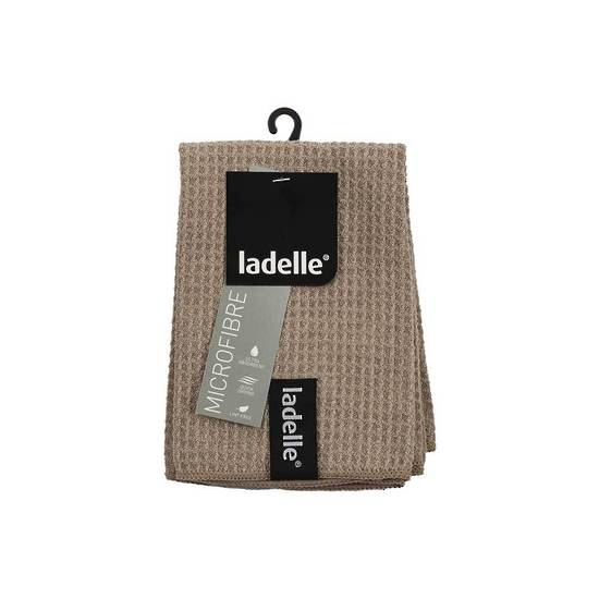 Ladelle Microfibre Dishcloth 3 Pack Stone