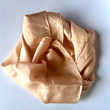 Load image into Gallery viewer, NZ Hand Dyed Natural Play Silk - little-eco-folk, Naturally dyed playsilk