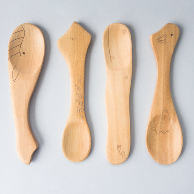 Eco-friendly Wooden Baby Spoon - little-eco-folk