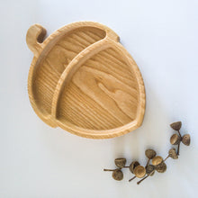 Load image into Gallery viewer, Eco-friendly Wooden Plate - Acorn - little-eco-folk