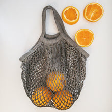 Load image into Gallery viewer, Botanical Dyed Net Tote Bag - little-eco-folk