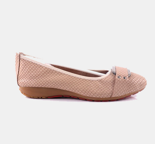 Julz Joy Leather Pump - Blush