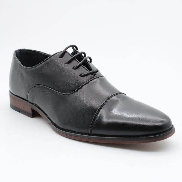 Baldini Men's Carson Formal Lace Up Oxford Shoe - Black