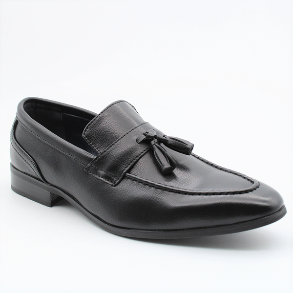 Baldini Men's Thomas Formal Tassel Loafer - Black