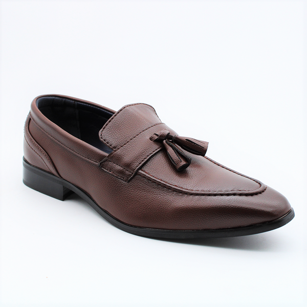 Baldini Men's Thomas Formal Tassel Loafer - Brown
