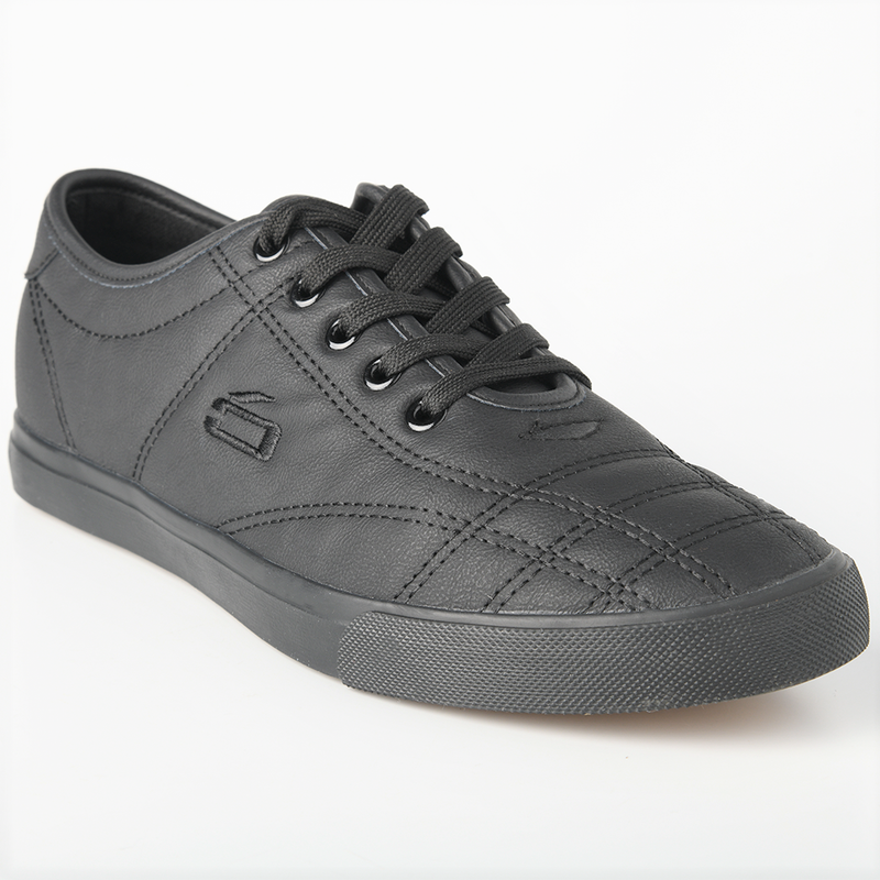 Loxion Kulca Men's Oliver Lace Up Sneaker - Black Mono