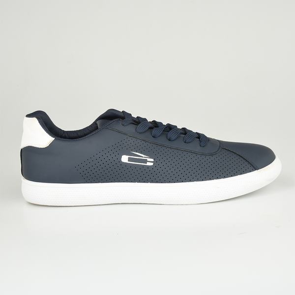 Loxion Kulca Men's James Casual Lace Up Sneakers - Navy