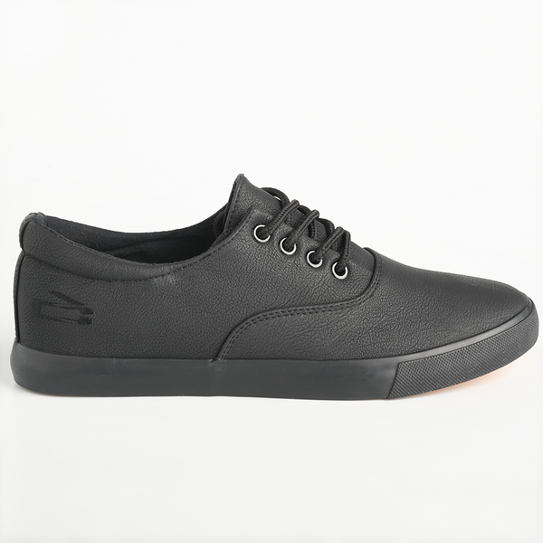 Loxion Kulca Men's David Casual Lace Up Sneakers - Black Mono