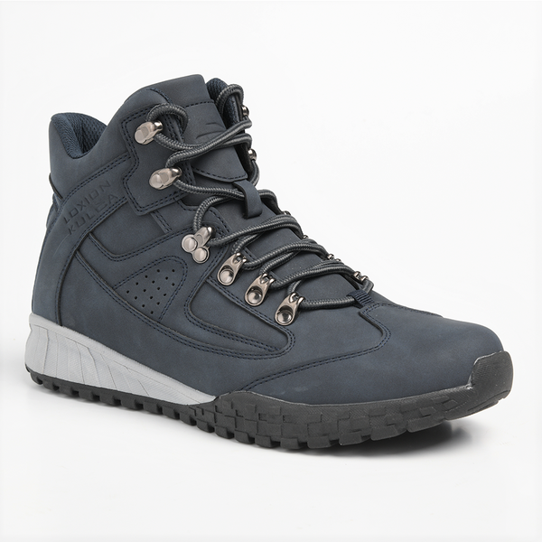 Loxion Kulca Men's Tristan Lace Up High Top Boot - Navy