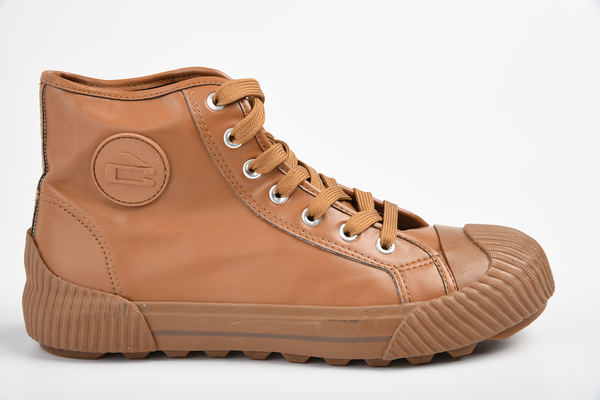 Loxion Kulca & Howza Men's High Top Sneaker - Tan