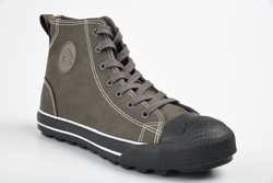 Loxion Kulca & Howza Mens High Top Sneaker - Grey