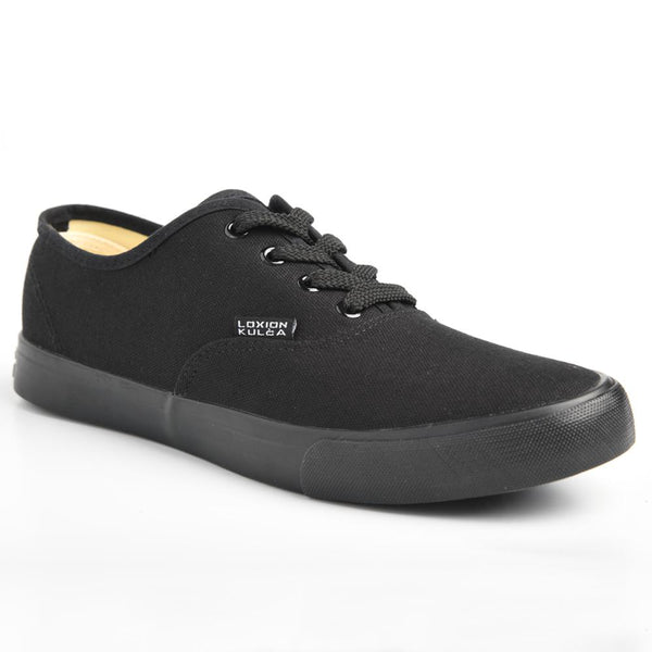 Loxion Kulca Men's Parker Lace Up Sneaker - Black